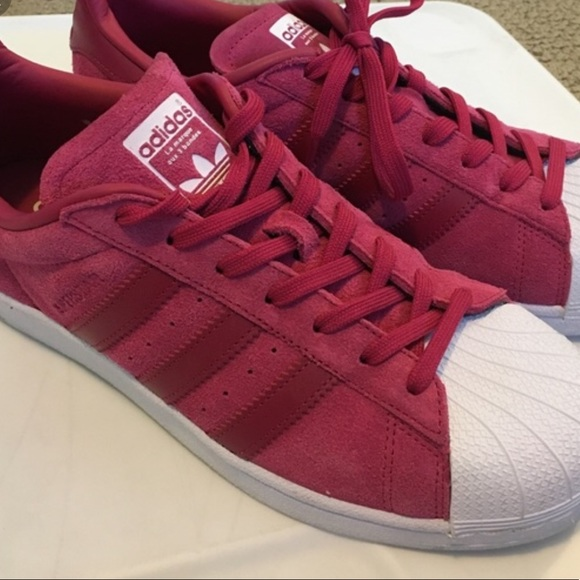 Adidas superstar red velvet